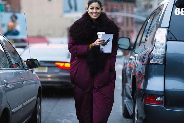 reputable site 5d67a 473c1 Alla New York Fashion Week si mettono il piumino | Vita su Marte