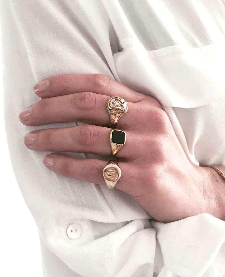 anello chevalier